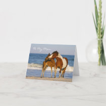 Horse Mom Mother's Day Card