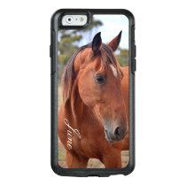 Horse Monogram OtterBox iPhone 6/6s Case