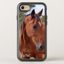Horse Monogram OtterBox Symmetry iPhone SE/8/7 Case