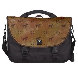 Horse Motif Bags For Laptop