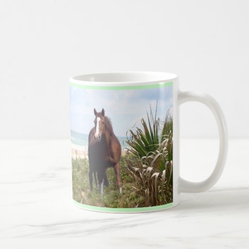 Horse Mug Beach