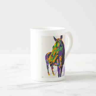 Horse mug - Georgia by Shai Steiner Tea Cup
