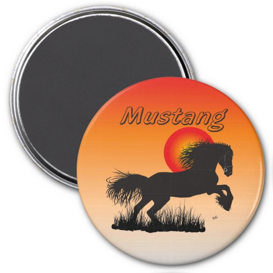 Horse - Mustang magnet