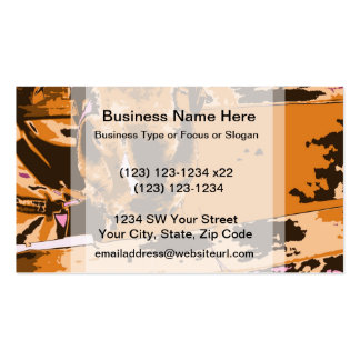 horse muzzle with hay fence brown graphic business cards