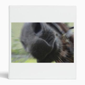 horse muzzle zoomed equine image binder