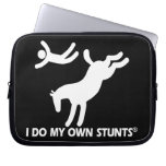 Horse My Own Stunts Laptop Computer Sleeves