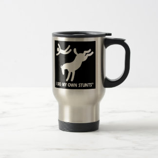 Horse My Own Stunts Travel Mug