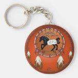 Horse n Arrows Keychain