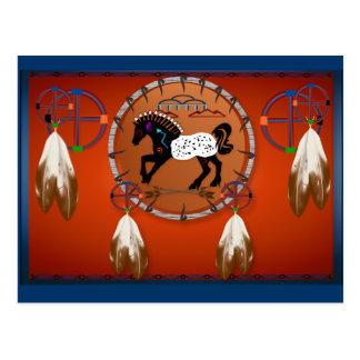 Horse n Arrows Postcard