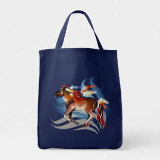 Horse N Bright Feathers Bag