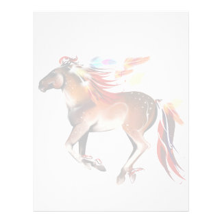 Horse N Bright Feathers Letterhead