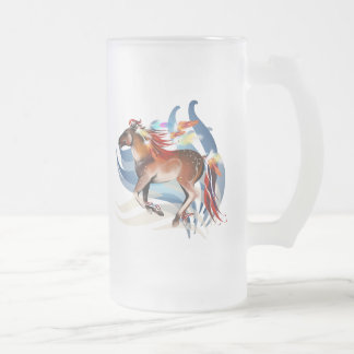 Horse N Bright Feathers Mug