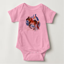 Horse N Bright Feathers Shirt