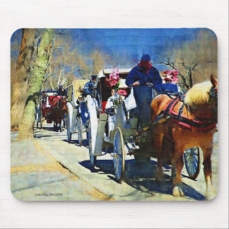 Horse n Carriage Ride Mousepad
