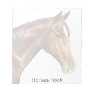Horse named Dreamer Notepad