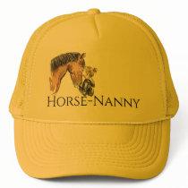 Horse Nanny cap