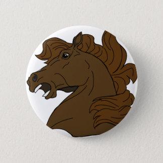 Horse Neigh Pinback Button