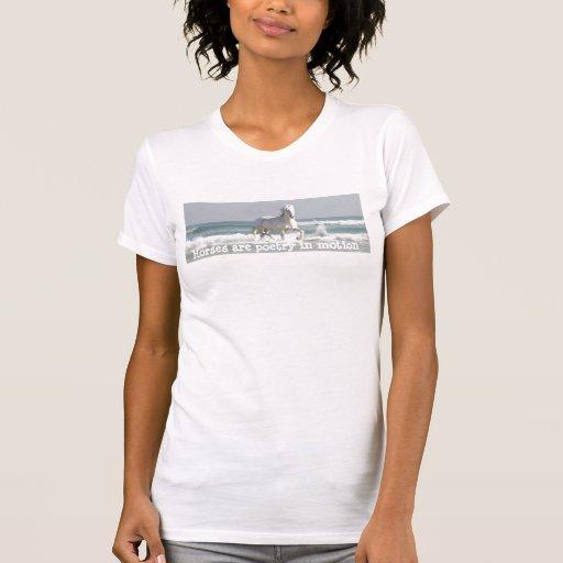 Horse Ocean Beauty  Ladies Shirt