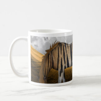 Horse of a different color classic white coffee mug