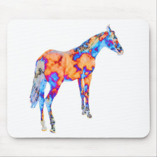 Horse of a Different Color Mouse Pad