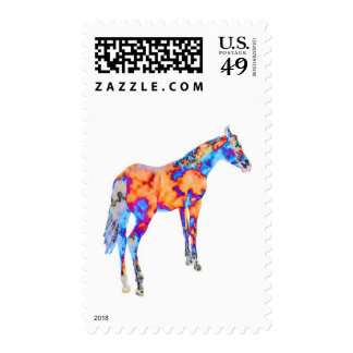 Horse of a Different Color Postage Stamps