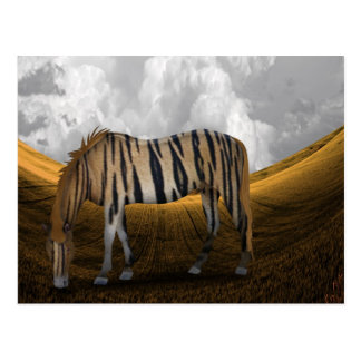 Horse of a different color postcard