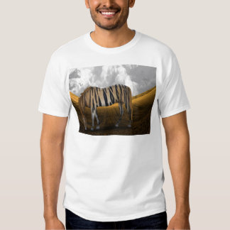 Horse of a different color tee shirt