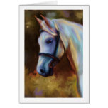 Horse of Colours - Horse painting Greeting Card