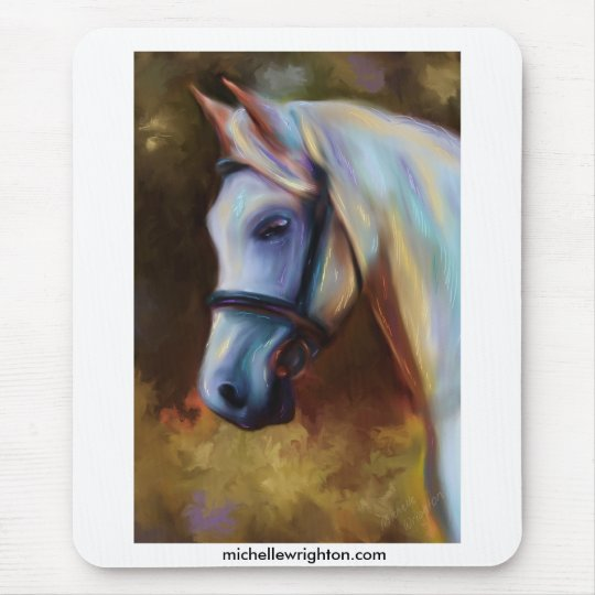 Horse of Colours - Horse painting Mouse Pad