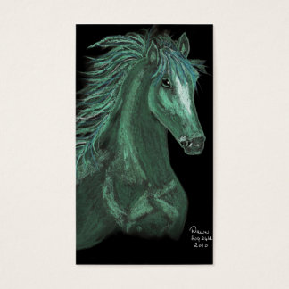 horse of dreams business card