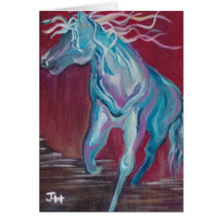 """""""Horse of Many Colors"""" Card"""