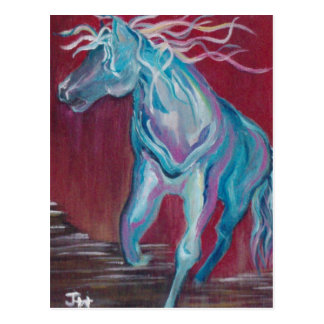 """""""Horse of Many Colors"""" Postcard"""