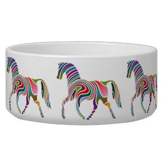 Horse of rainbow bowl