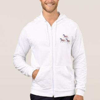 Horse of rainbow hoodie