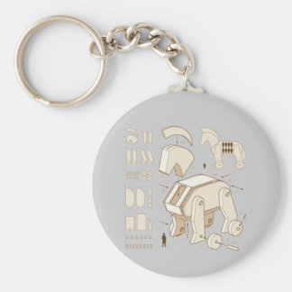Horse of Troy Keychain
