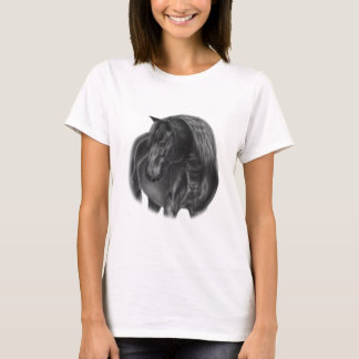 Horse Oil Painting T-Shirt