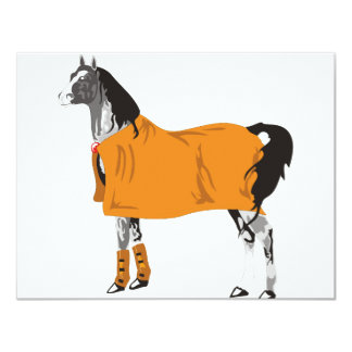 Horse on Holiday Card