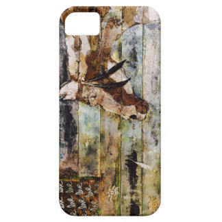 Horse on pallets iphone case