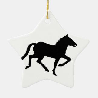 Horse Christmas Tree Ornament