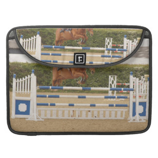 "Horse Over Fence 15"" MacBook Sleeve Sleeve For MacBook Pro"