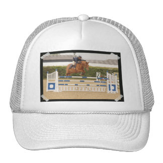 Horse Over Fence Baseball Hat