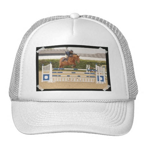 Horse Over Fence Baseball Hat