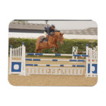 Horse Over Fence Flexible Magnet Rectangle Magnets
