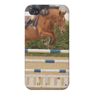 Horse Over Fence iPhone 4 Case