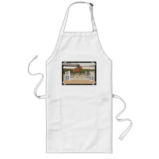 Horse Over Fence Long Apron