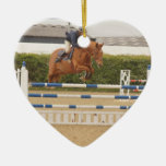 Horse Over Fence Ornament