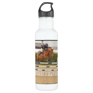 Horse Over Fence 24oz Water Bottle
