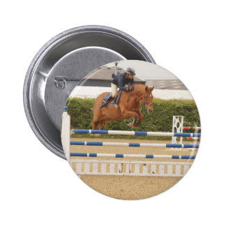 Horse Over Fence Pin
