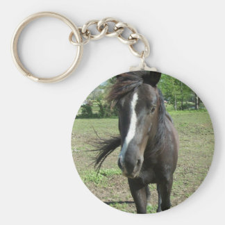 Horse Paint Keychain
