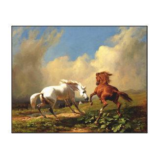 horse  painting 18 canvas prints
